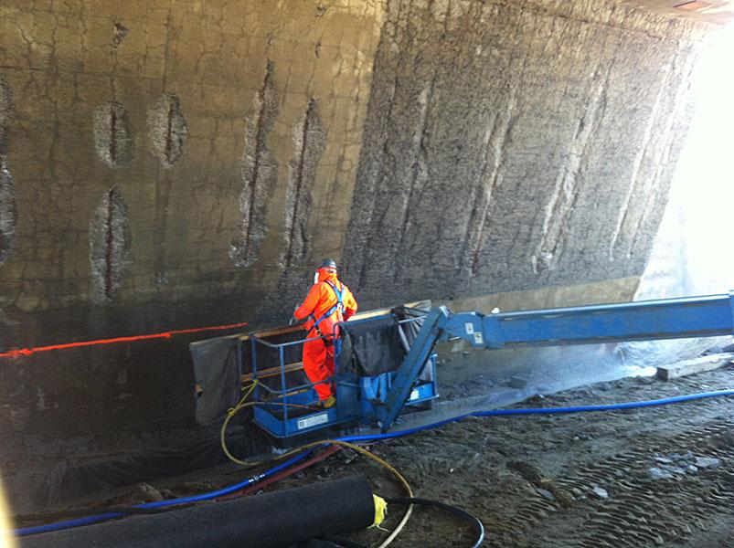 Hydro demolition - Groupe Diamantex